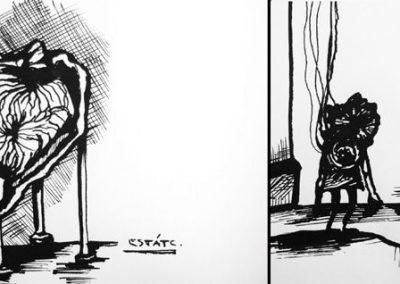 Ilustraciones Serie B&N 11