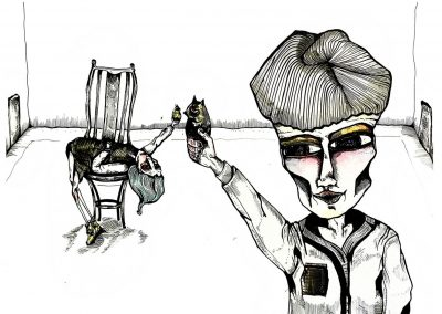 Ilustraciones Serie Levedad 4