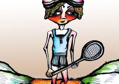 Ilustraciones Serie Tenis 6