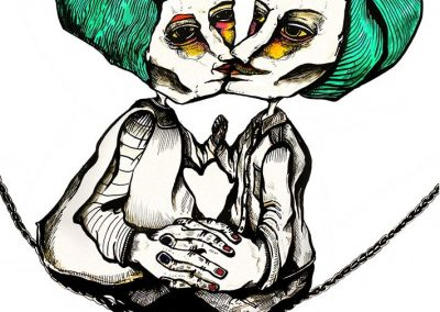 Ilustraciones Serie Levedad 3