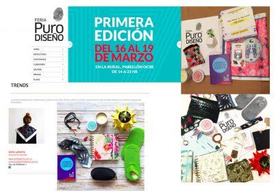 Feria PuroDiseño Cartel