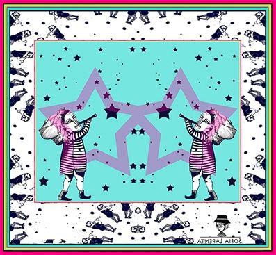 Pañuelo Estrellada Nuevos Colores 2