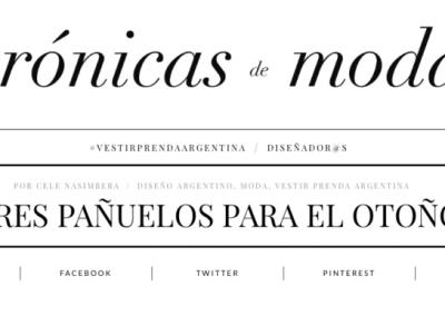 Revista Crónicas de Moda 1
