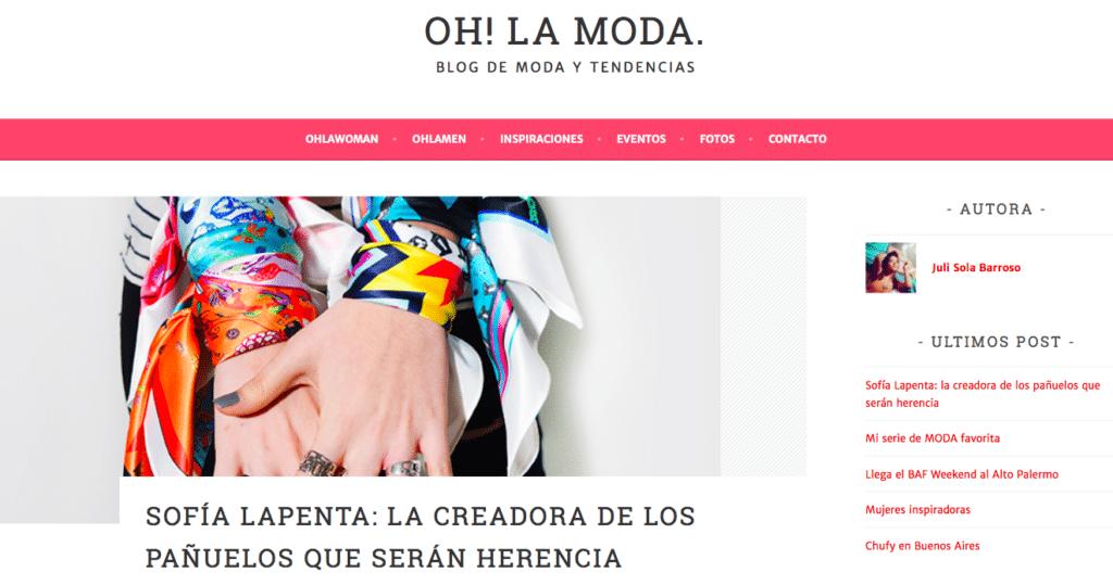 OH! LA MODA 1
