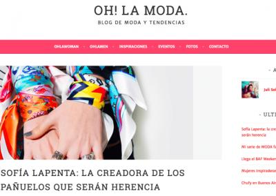 OH! LA MODA