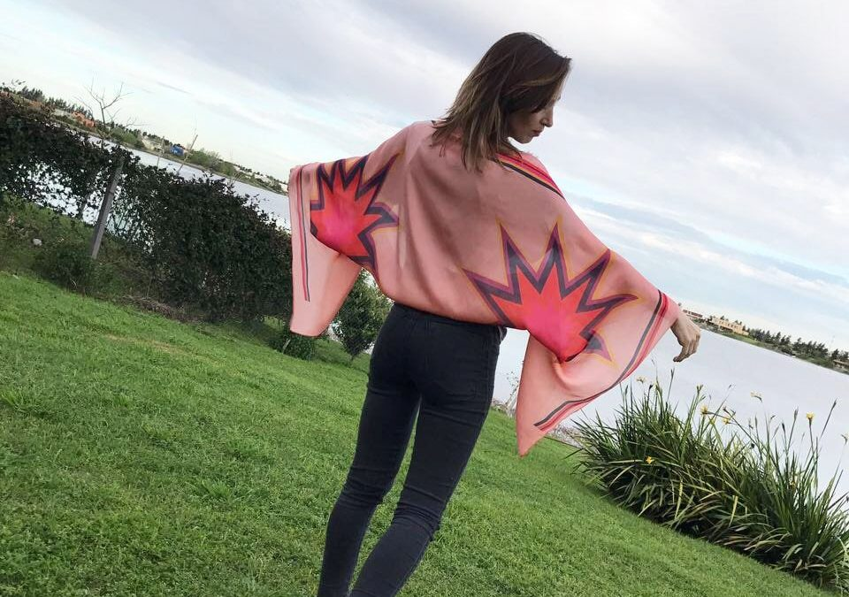 Luciana Bacci: El pañuelo es un accesorio altamente versátil.