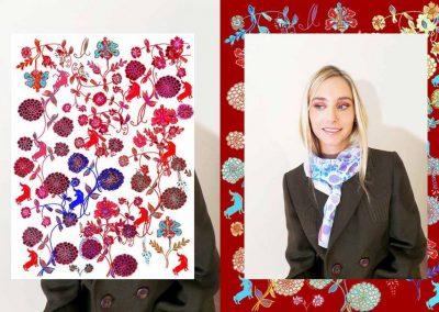 Colección Floración AW015
