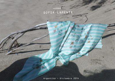 Pañuelo Colección Marina de Sofia Lapenta