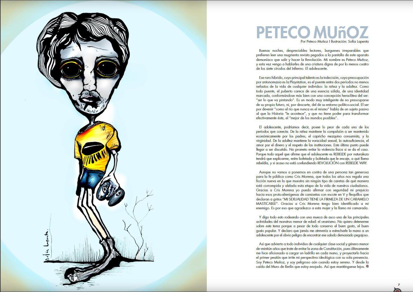 Revista de Arte NQM. Serie Ilustraciones 3