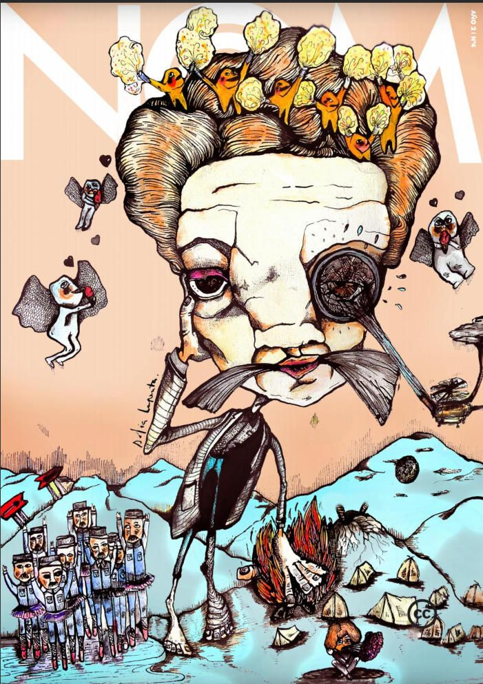 Revista de Arte NQM. Serie Ilustraciones 2