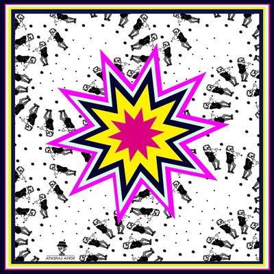 Pañuelo Estrella Mix Lila 2