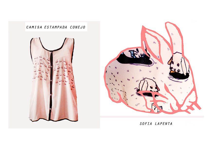 Diseño Textil Conejos 1