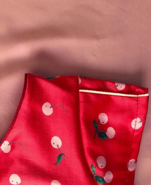 Estampado Cerezas Rojo | Sofia Lapenta