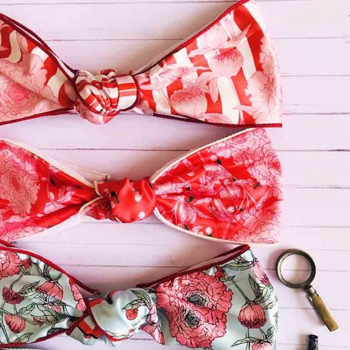 Turbantes Serie Peonías colores varios | Sofia Lapenta