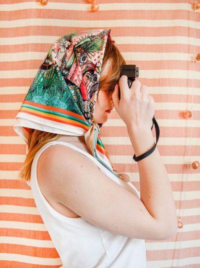 Pañuelo Turista Serie Marruecos de Sofia Lapenta