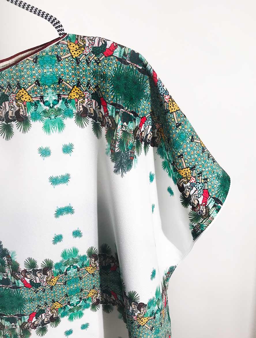 Tunica corta Serie Marruecos de Sofia Lapenta