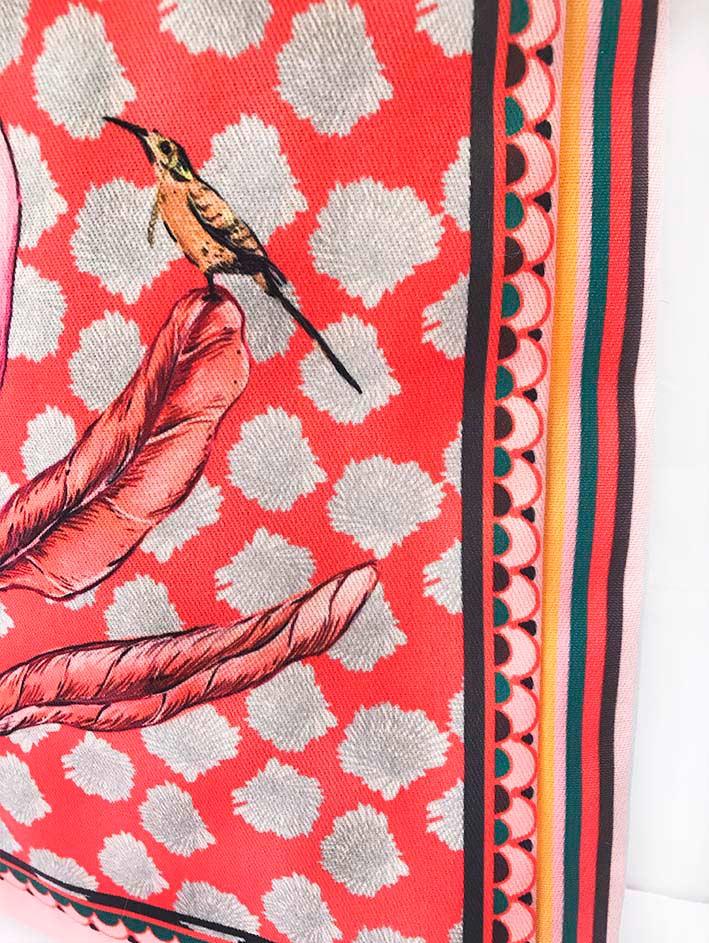Tote Bag Protea Roja 5