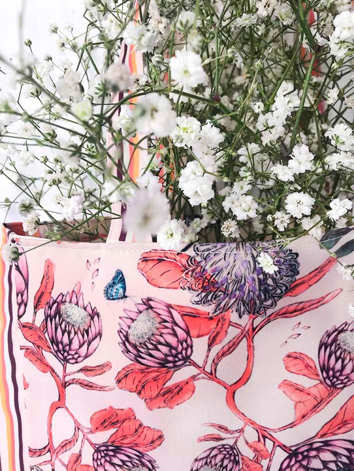 Tote Bag Protea Crema 5