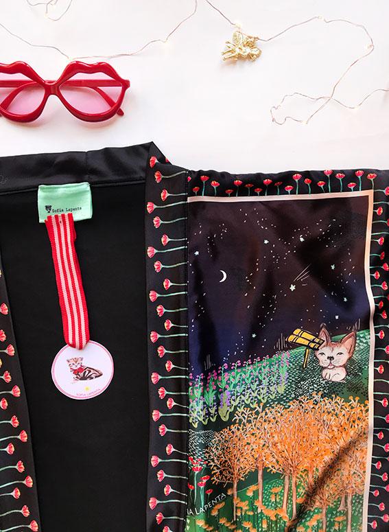 Kimono Bata corta Animal Lover 8