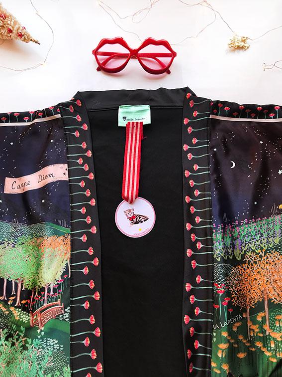 Kimono Bata corta Animal Lover 12