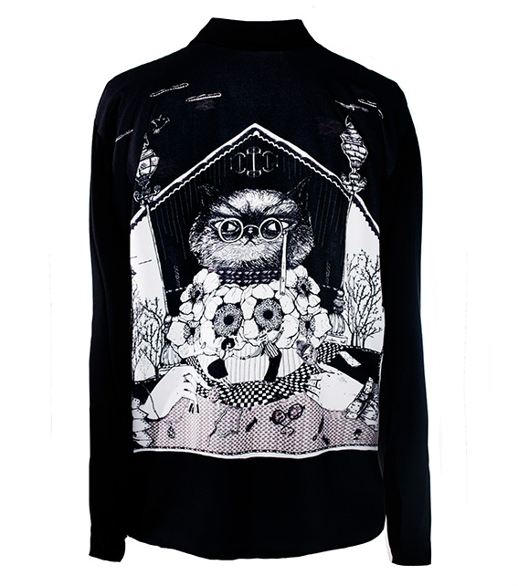 Camisa Impertinentes Negra 2